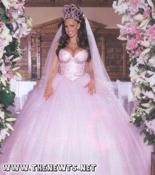 The heaviest wedding dress in the world is also one of the for Wedding dress for 5ft bride