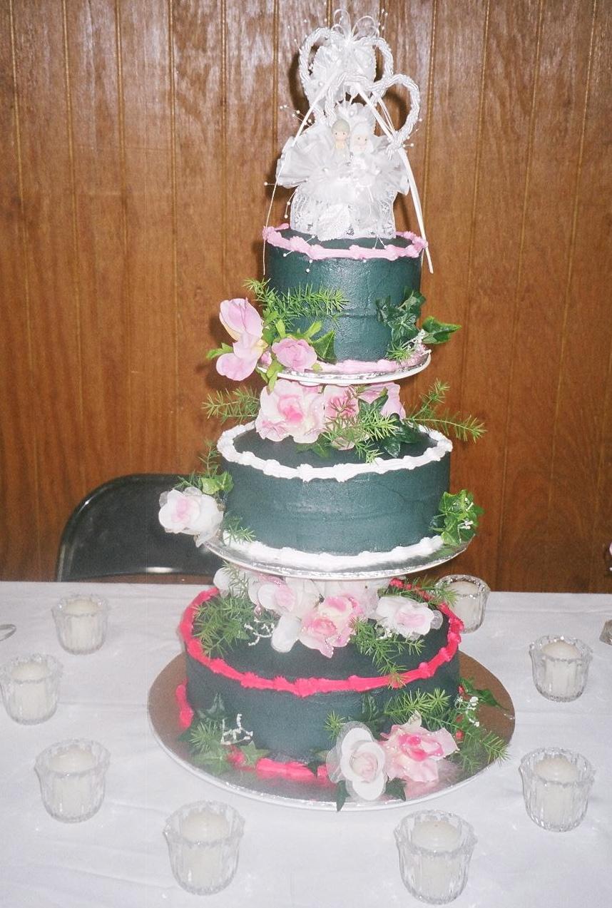 Fugly Wedding Cake