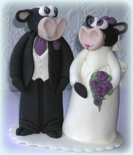 cow-wedding-cake-topper-bespoke
