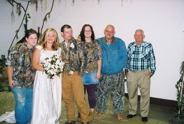 Camouflage Weddings