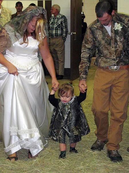 Camouflage Weddings All Things Heinous Trashy And