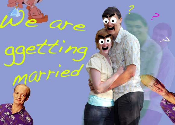Fun with photoshop wedding invites All things heinous trashy and