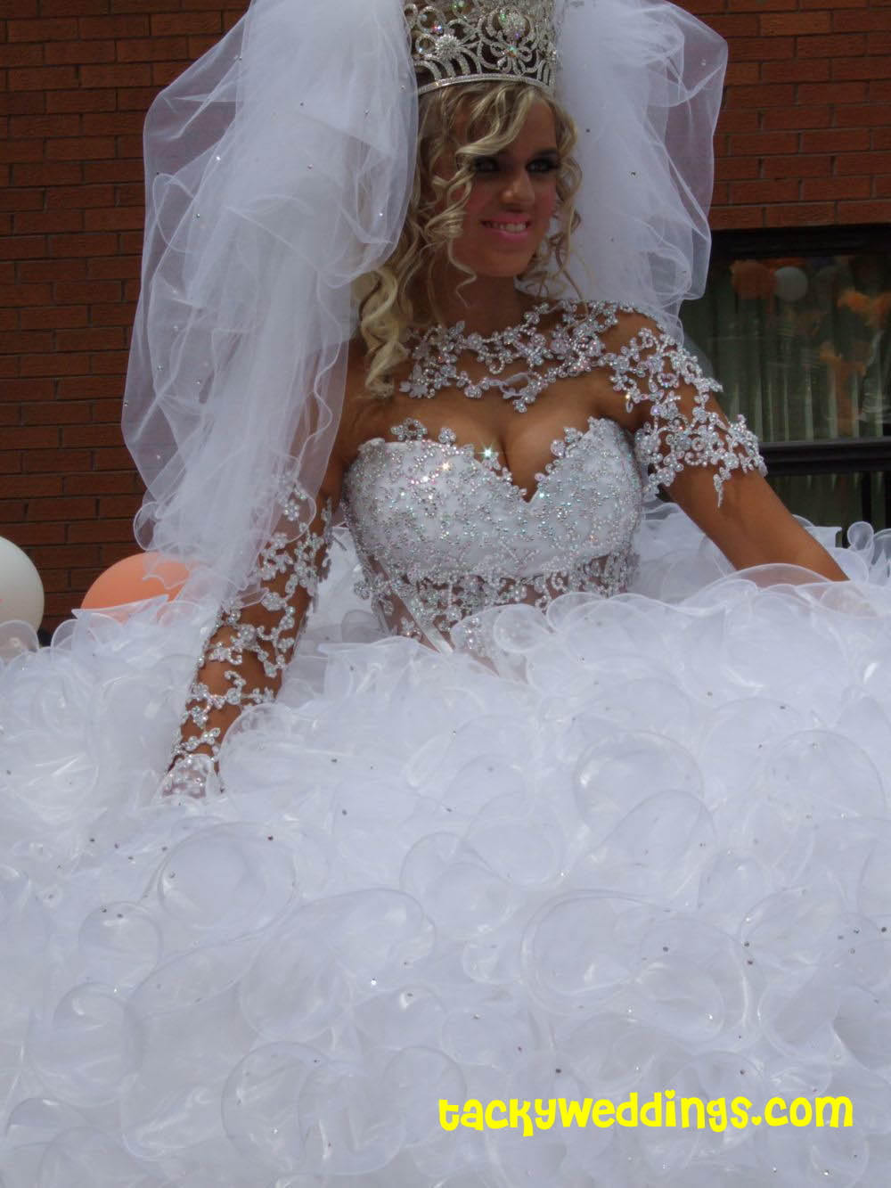 Trashy Wedding Dresses