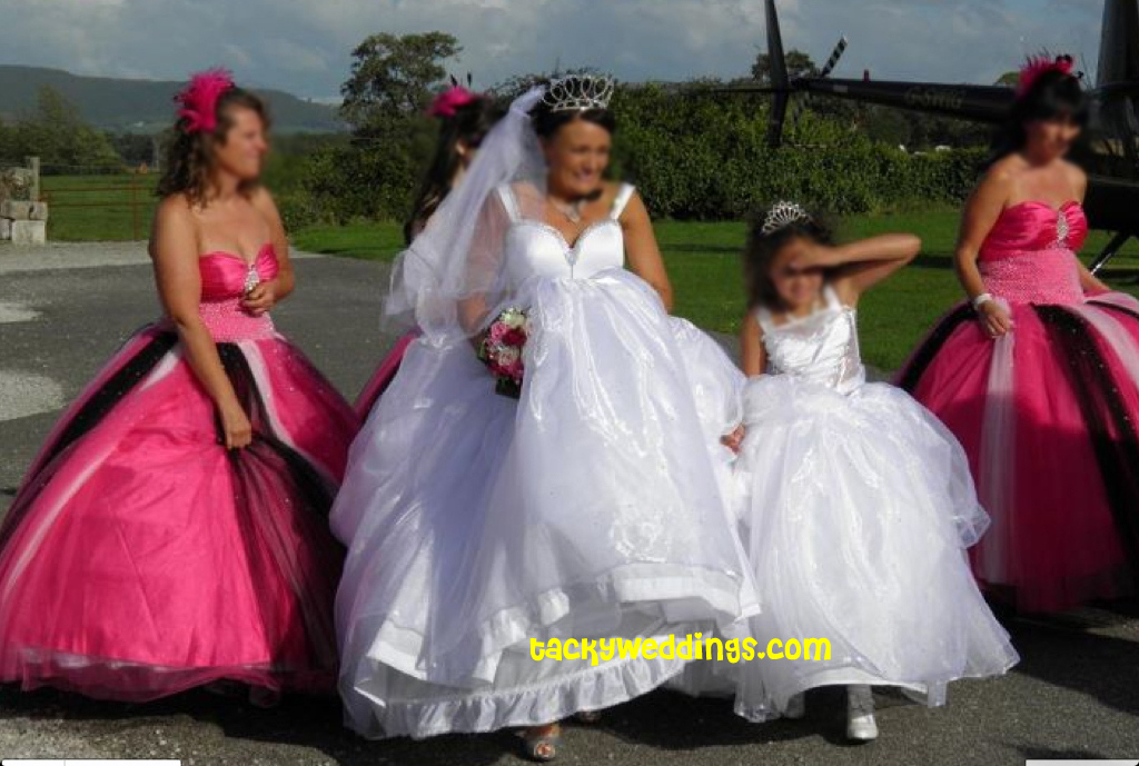 All Things Heinous Trashy And Hilarious In Weddings